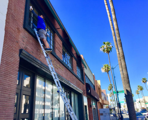 L.A. Elite Window Cleaning | Commercial Second Floor Cleaning